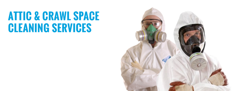 attic and crawl space cleaning